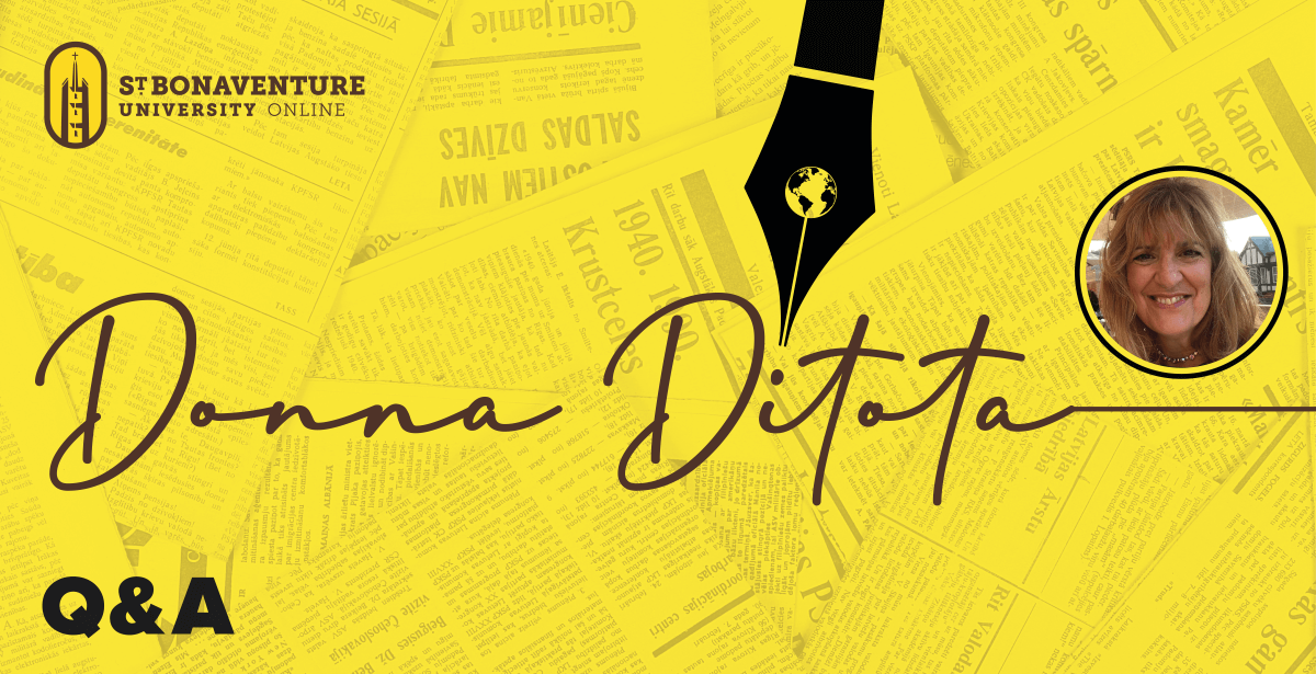 Interview with Donna Ditota