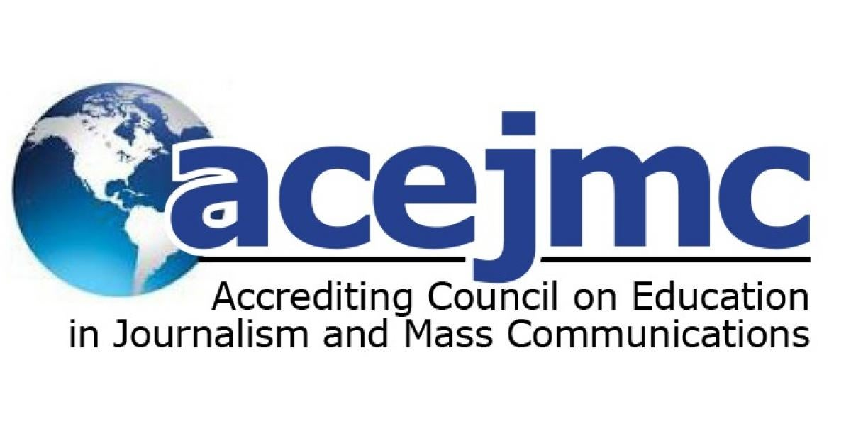 Accrediting Council on Education in Journalism and Mass Communications (ACEJMC) blog header