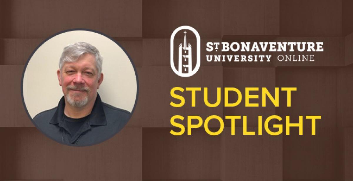 St.Bonaventure Online – Student Spotlight - Shawn Ellis blog header