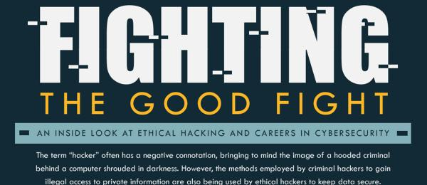 Cybersecurity - Fighting the Good Fight Infographic teaser